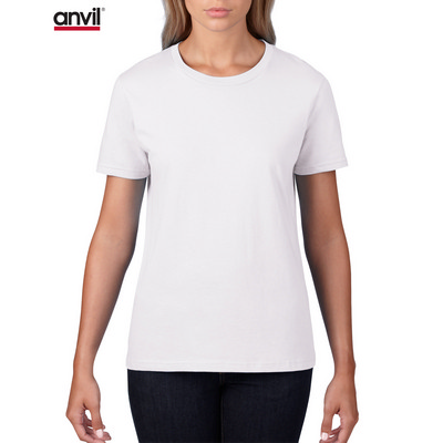 Picture of Anvil Women's Lightweight Tee White