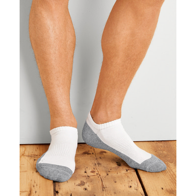 Picture of Gildan Platinum Men's No Show Socks WhiteSocks
