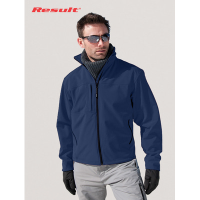 Picture of Result Mens Classic Soft Shell Jacket