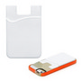 Smartphone Card Wallet - White
