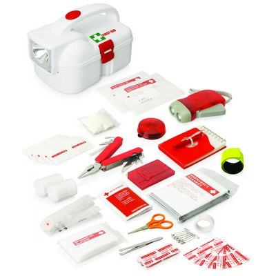 Picture of 50pc Emergency Torch First Aid Kit
