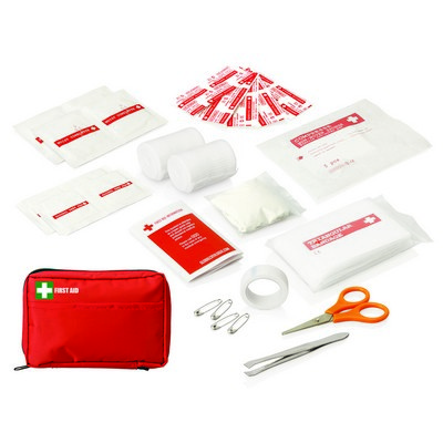 Picture of 30pc First Aid Kit - Carry Pouch w/Front