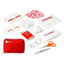 30pc First Aid Kit - Carry Pouch w/Front