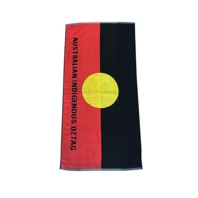 Picture of Jacquard Woven Beach Towel