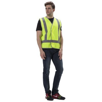 Picture of Hi-Vis Safety Vest With Reflective Tape