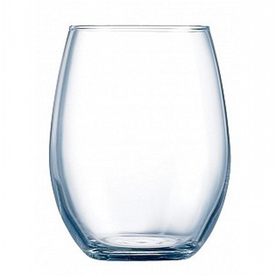 Picture of wine glasses - Stemless