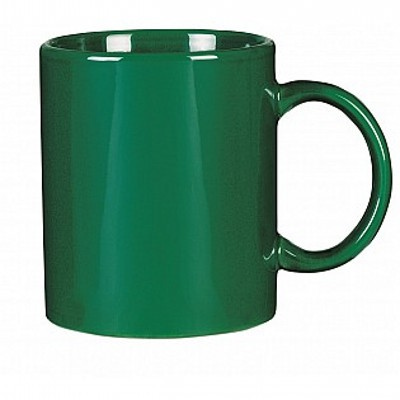 Picture of Colonial Ceramic Stoneware Mugs - green