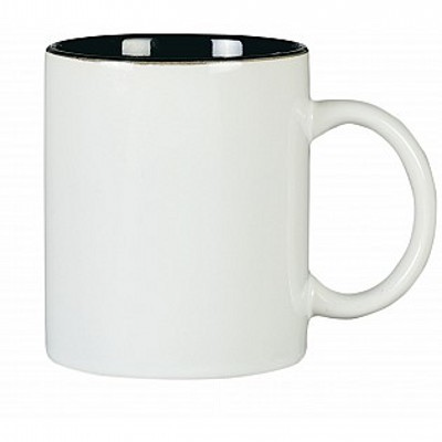 Picture of Colonial Ceramic Stoneware Mugs - white/