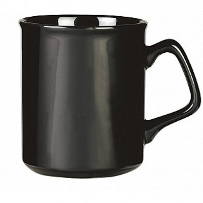Picture of Colonial Ceramic Stoneware Mugs - black