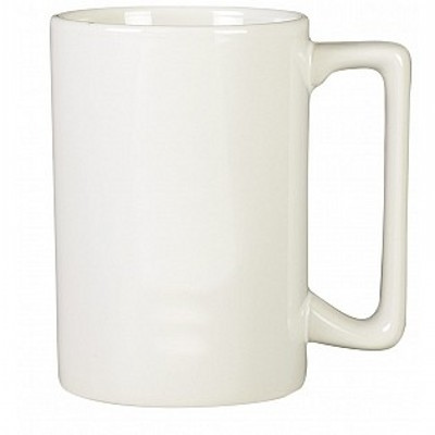 Picture of Colonial Ceramic Stoneware Mugs - white