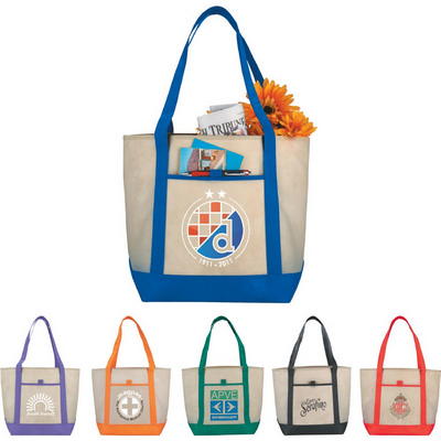 Picture of Lighthouse Non-Woven Boat Tote