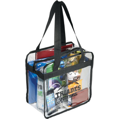 Picture of Game Day Clear Zippered Safety Tote
