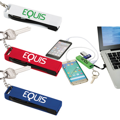 Picture of 3-in-1 USB Hub Key Chain