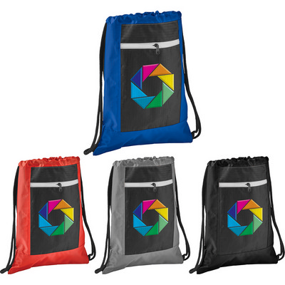 Picture of Zippered Ripstop Drawstring Sportspack