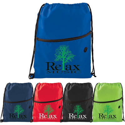 Picture of Insulated Zippered Drawstring Sportspack