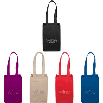 Picture of 4 Pack Non-Woven Wine Tote
