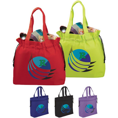 Picture of Shell Cinch Non-Woven Tote