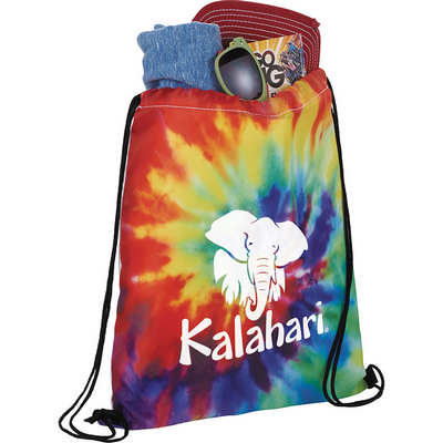 Picture of Tie Dye Drawstring Sportspack
