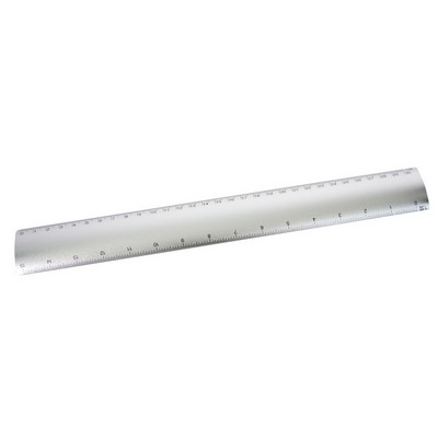 Picture of Aluminium flat scale ruler