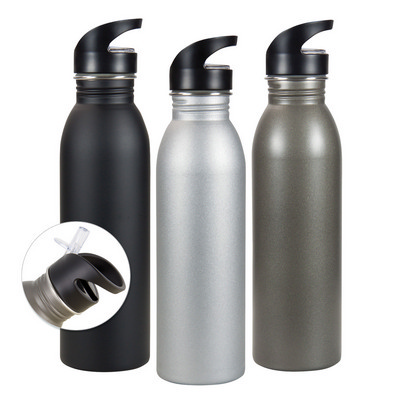 Picture of Stainless steel sipper bottle