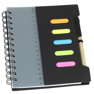 Picture of Large Notebook with Pen & Ruler