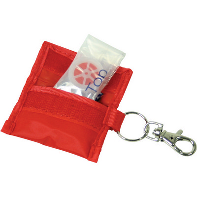 Picture of CPR mask keyring