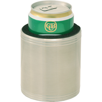 Picture of Stainless steel insulated beer holder