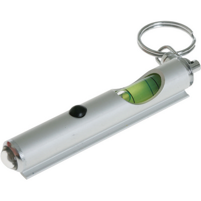 Picture of Spirit level and torch keyring