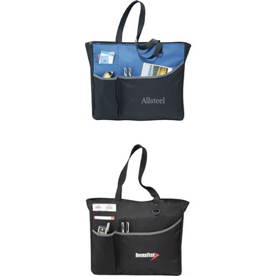 Picture of Metropolis Zippered Meeting Tote