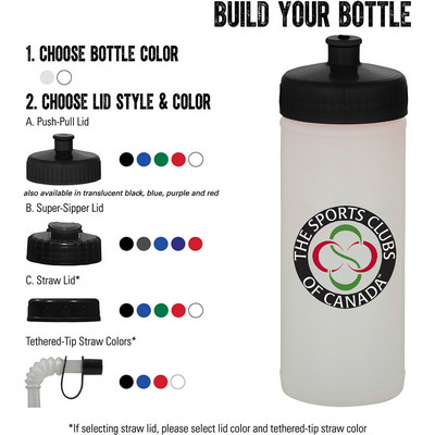 Picture of 16-oz. Sports Bottle - Natural/White