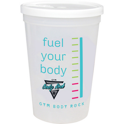 Picture of 16-oz. Shaker Stadium Cup with Lid