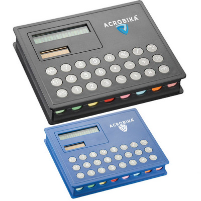 Picture of Calculator and Sticky Note Case