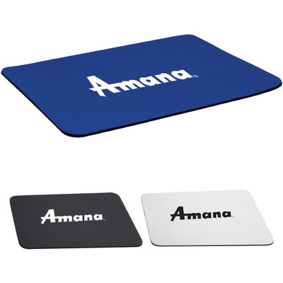 """Picture of 1/8"""" Rectangular Foam Mouse Pad"""