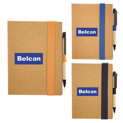Picture of The Eco Perfect Bound Notebook with Pen