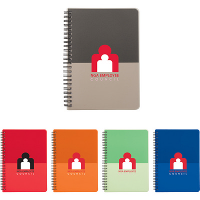 Picture of Color Block Notebook - Large