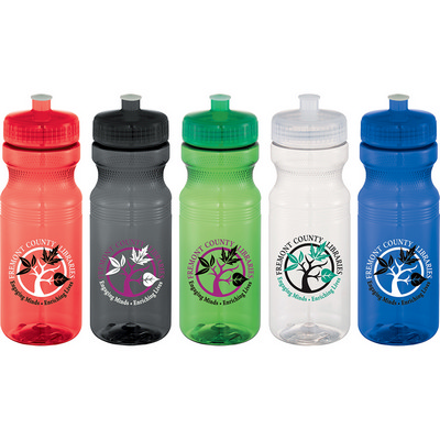 Picture of Easy Squeezy 24oz Sports Bottle -Crystal