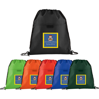 Picture of Insulated Non-Woven Drawstring Sportspac