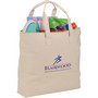 10 oz. Basic Cotton Canvas Zippered Tote