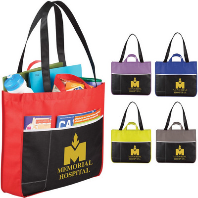 Picture of Change Up Non-Woven Meeting Tote