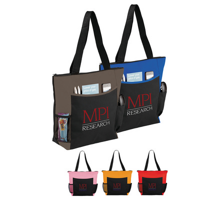Picture of Grandview Zippered Meeting Tote