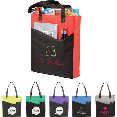 Picture of Rivers Pocket Non-Woven Convention Tote