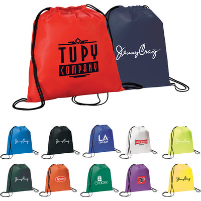 Picture of Evergreen Non-Woven Drawstring Sportpack