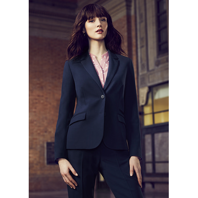 Picture of Ladies Two Button Mid Length Jacket