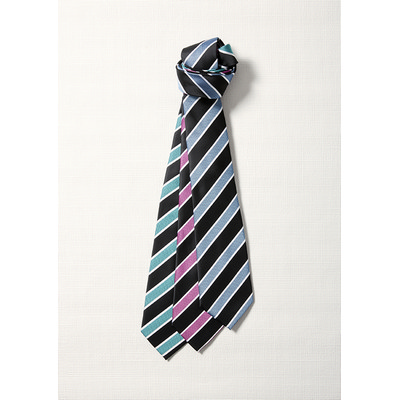 Picture of Mens Wide Contrast Stripe Tie