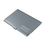 Dublin Aluminium Card Holder DISC