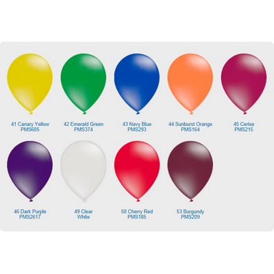 "Picture of Crystal Translucent Balloon - 11"" (28cm)"