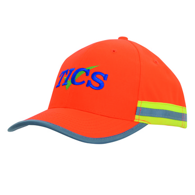 Picture of 6PNL HiVis Cap 2 Tone Reflective Trim