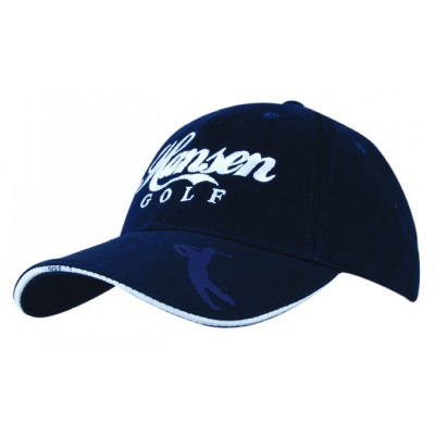 Picture of BHC Golf cap with embossed peak