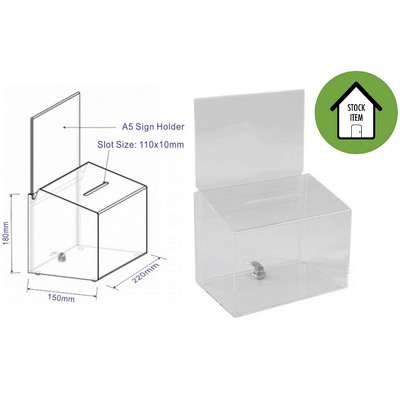 Picture of Acrylic Ballot or Feedback Box