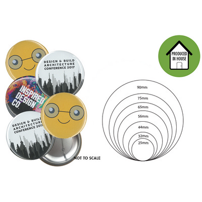 Picture of 86mm Button Badge Fridge Magnet